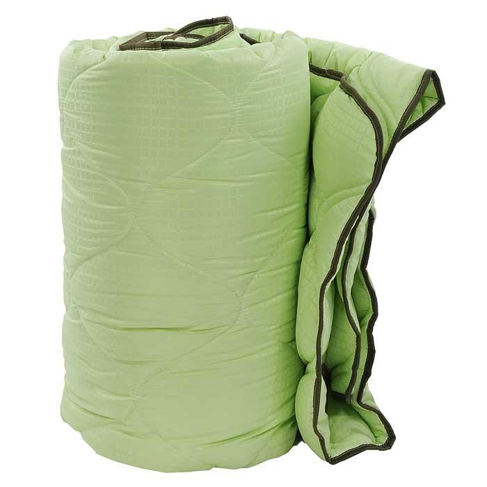Одеяло TAC M-Jacquard, наполнитель: силиконизированное волокно, цвет: зеленый, 195 х 215 см7122B-8800003639Двуспальное одеяло TAC M-Jacquard подарит вам здоровый и комфортный сон. Чехол одеяла выполнен из гладкого, нежного и приятного на ощупь полиэфира, декорированного принтом в мелкую клетку. Наполнитель одеяла - силиконизированное волокно из полиэфира. Силиконизированное волокно - полое, не склеенное, скрученное лавсановое волокно. Волокно проходит высокую степень силиконизации, тем самым увеличивается его упругость. В изделиях это определяет срок службы. Наполнитель экологически чистый, без запаха, не вызывает аллергии. Изделия с этим наполнителем отлично сохраняют тепло, держат объем, обладая при этом мягкостью и упругостью. Они легкие, гипоаллергенные, свободно пропускают воздух, в них не поселяются вредные микроорганизмы. Одеяло стирается в обычной стиральной машине, быстро сохнет, после стирки восстанавливает свой объем и форму. Одеяло простегано и окантовано, фигурная стежка равномерно удерживает наполнитель внутри и не позволяет ему скатываться. Ваше...