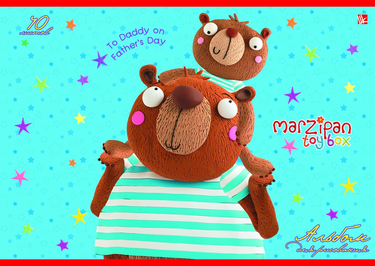 Listoff Альбом для рисования Веселые медведи 40 листовА2Л401357Альбом для рисования Listoff Веселые медведи непременно порадует вашего малыша и вдохновит его на творчество. Яркая, красочная, креативная обложка выполнена из картона с отделкой Твин-лак привлечет внимание юного художника. Обложка альбома оформлена красочным изображением веселых медведей. Внутренний блок состоит из 40 листов белой высококачественной бумаги на скрепке, что гарантирует чистоту рисунков, высокое качество и комфорт при рисовании. Рисование поможет раскрыть таланты малыша, а также способствует развитию мелкой моторики и художественного вкуса. А с альбомом для рисования Веселые медведи рисовать легко и приятно! Рекомендуемый возраст: от 6 лет.