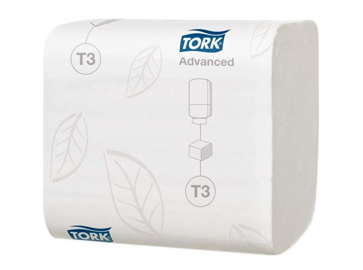Tork листовая туалетная бумага мягкая 2сл 242л, коробка 36 шт114271Целлюлоза