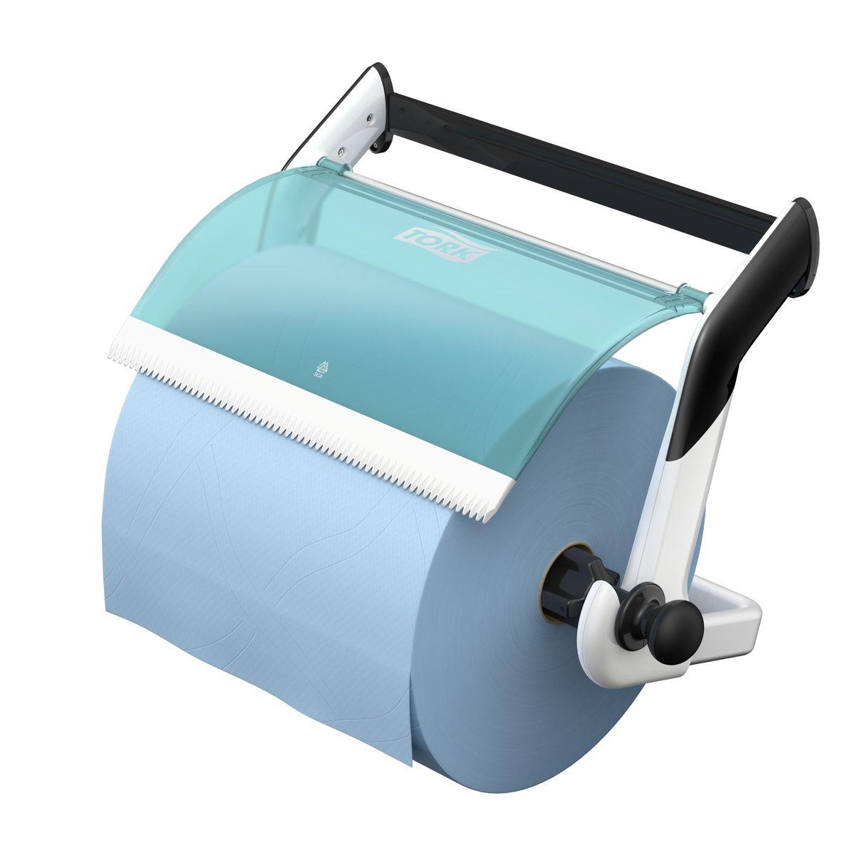Диспенсер для туалетной бумаги Tork, цвет: белый . 652100652100Держатель для протирочных материалов Tork. Настенный держатель обладает прочной конструкцией и позволит сэкономить место. Быстро и легко менять расходный материал.