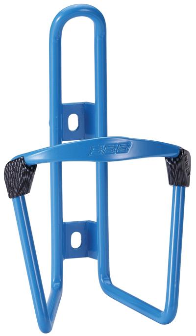 Флягодержатель BBB FuelTank, цвет: синийBBC-03Универсальный флягодержатель BBB FuelTank, выполненный из прочного алюминия, способен удерживать не только велофлягу, но и обычные пластиковые бутылки. Закрепляется на раме при помощи шурупов. По бокам имеются специальные накладки, предотвращающие стирание бутылки. Это незаменимая вещь для спортсменов и любителей длительных велосипедных прогулок. Благодаря держателю, фляга с водой будет у вас всегда под рукой.
