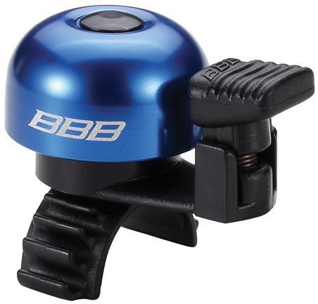 Звонок велосипедный BBB EasyFit, цвет: синий1100Легкий звонок BBB EasyFit выполнен из прочного металла и оснащен пластиковым молоточком. Можно устанавливать в любом положении. Простое крепление подходит ко всем диаметрам рулей. Звонок легко ставить и снимать.