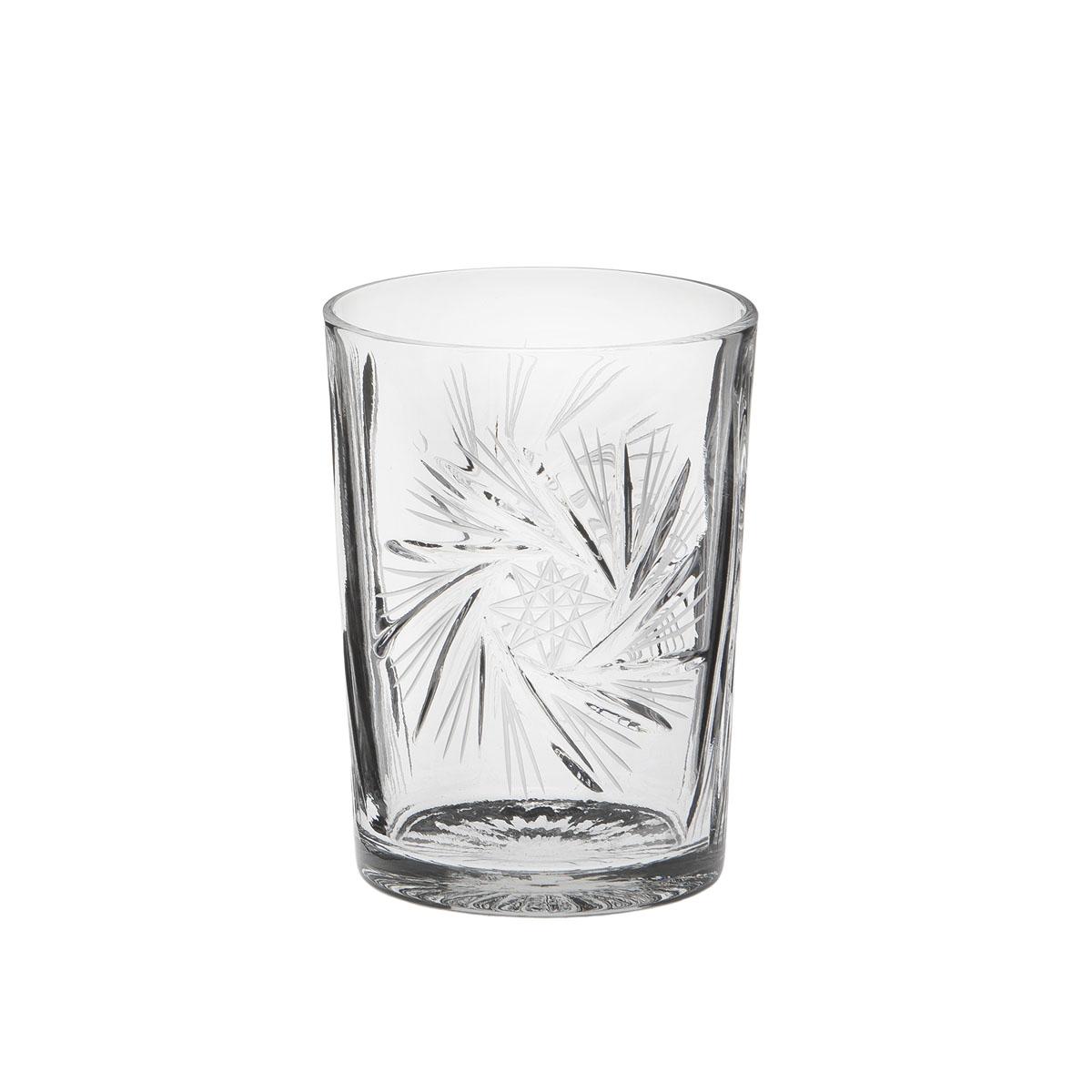 Стакан Дятьковский хрусталь Пинвилл, 235 мл. С187С187Хрустальные стаканы – красивое и простое решение для украшения праздничного стола. Стаканы из хрусталя универсальны, они подойдут и для алкогольных напитков – вина, шампанского, и для освежающих – минеральной воды, компота или сока. Если в вашей домашней коллекции еще нет предметов хрустальной посуды, купить хрустальные стаканы стоит обязательно.