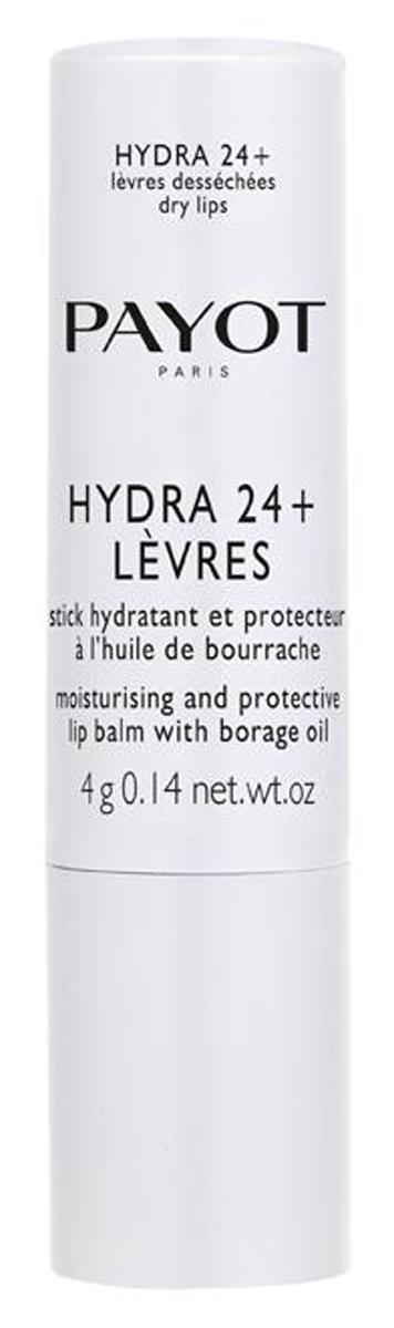 Payot Hydra 24+ Увлажняющий бальзам-стик для губ, 4 млFS-00103Бальзам увлажняет и возвращает комфорт сухой и поврежденной коже губ. Гипоаллергенное средство, не содержащее консервантов.Наносите бальзам на губы утром и вечером и при необходимости в любое время дня