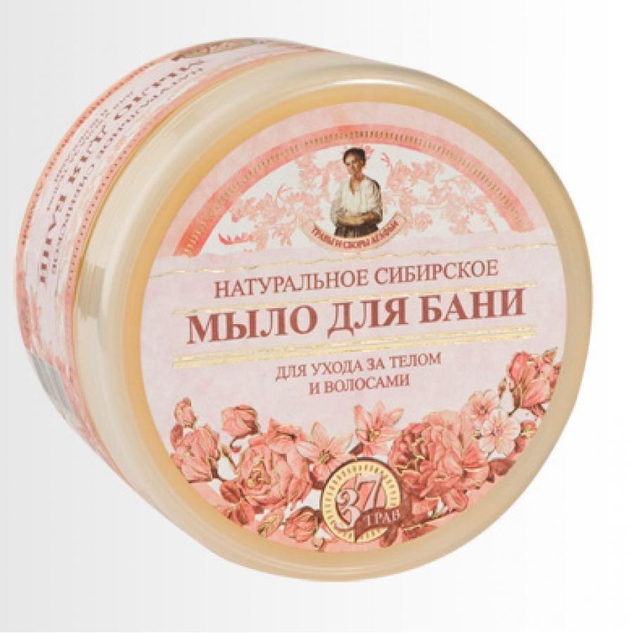 Травы и Сборы Агафьи. Мыло для бани Цветочное мыло Агафьи 500 мл071-16-5253Натуральное Сибирское мыло для бани - цветочное мыло для ухода за телом и волосами.В состав цветочного мыла, кроме множества ценных сибирских трав, входят цветочные нектары, пыльца и воск, что делает данный продукт нежным, легким и ароматным.Мыло можно использовать и как шампунь, и как гель для душа.