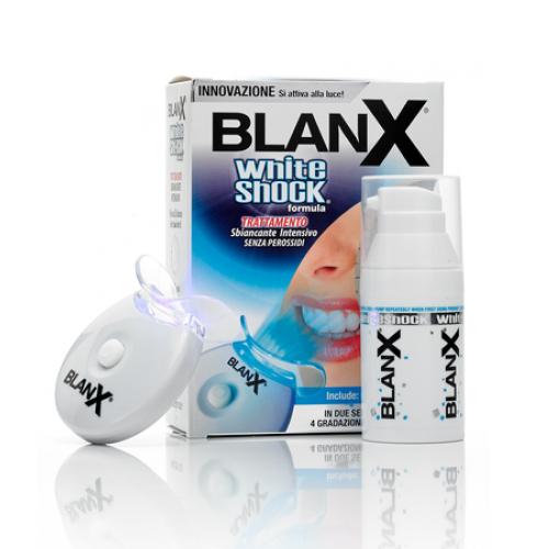 Blanx Отбеливающий уход + световой активатор Blanx whith shock treatment + Led Bite