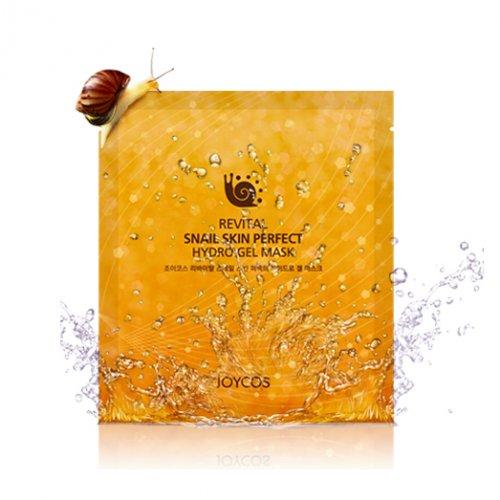 Revital Snail Skin Perfect Hydro Gel Mask Восстанавливающая гидрогелевая маска для лица на основе слизи улиток, 100 гj02Восстанавливающая гидрогелевая маска с улиточным муцином. Улиточный муцин, содержащийся в составе маски, обеспечивает глубокое увлажнение и повышает упругость сухой атоничной кожи.