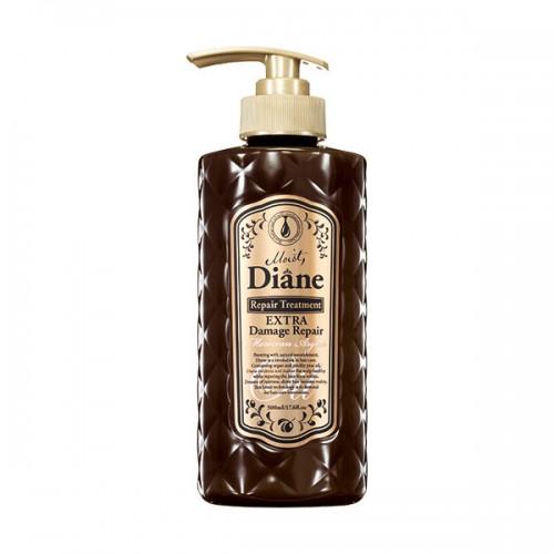 Moist Diane Repair Treatment Extra Damage Repair GL Премиум-бальзам для волос, 500 млdt01Восстанавливает поврежденную структуру, увлажняет волосы изнутри и покрывает поверхность волоса тонкой пленкой, запечатывая питательные и увлажняющие ингредиенты внутри. Ухаживает за окрашенными волосами и придает шелковистый блеск. Бальзам имеет аромат лесных ягод.Рекомендуется использовать в комплексе с шампунем для волос той же линии.