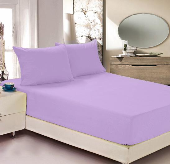 Простыня на резинке Легкие сны Color Way, трикотаж, цвет: сиреневый, 200 x 200 смЛСПР-200/6Простыня Легкие сны Color Way выполнена из трикотажа. Высочайшее качество материала гарантирует безопасность не только взрослых, но и самых маленьких членов семьи. Изделие прошито резинкой по всему периметру, что обеспечивает более комфортный отдых, так как оно прочно удерживается на матрасе и избавляет от необходимости часто поправлять простыню. Простыня гармонично впишется в интерьер вашей спальни и создаст атмосферу уюта и комфорта. Рекомендации по уходу: Деликатная стирка при температуре воды до 30°С. Отбеливание, химчистка запрещены. Рекомендуется глажка при температуре подошвы утюга до 150°С. Разрешена барабанная сушка.