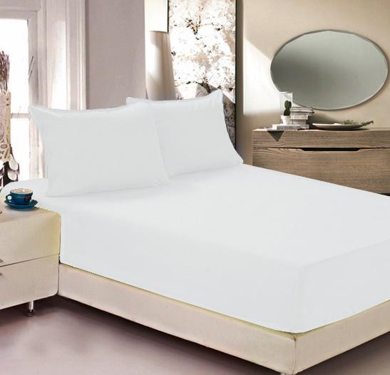 Простыня на резинке Легкие сны Color Way, трикотаж, цвет: белый, 140 x 200 см12245Простыня Легкие сны Color Way выполнена из трикотажа. Высочайшее качество материала гарантирует безопасность не только взрослых, но и самых маленьких членов семьи. Изделие прошито резинкой по всему периметру, что обеспечивает более комфортный отдых, так как оно прочно удерживается на матрасе и избавляет от необходимости часто поправлять простыню. Простыня гармонично впишется в интерьер вашей спальни и создаст атмосферу уюта и комфорта.Рекомендации по уходу:Деликатная стирка при температуре воды до 30°С.Отбеливание, химчистка запрещены.Рекомендуется глажка при температуре подошвы утюга до 150°С.Разрешена барабанная сушка.