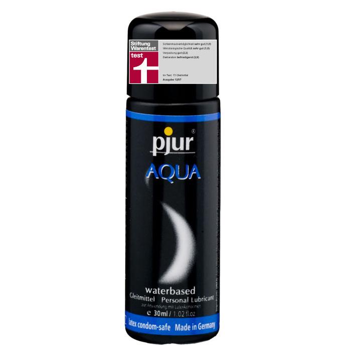 Pjur, Увлажняющий лубрикант pjur AQUA 30 мл1PJURAQUA-30Лубрикант на водной основе. Качество говорит само за себя. Очень бережно отностися к слизистым оболочкам на микробиологическом уровне. Лубрикант увлажняет кожу, не делая ее липкой. Не содержит нефтепродуктов, масел, и парфюмерных добавок, что делает его особо нежной для вашей кожи и слизистых оболочек. Сверхмягкая формула с продолжительным скольжением питает и защищает сухую и поврежденную кожу. Будь то ежедневные ласки или регулярный уход за телом: pjur AQUA всегда оставляет приятные ощущения.
