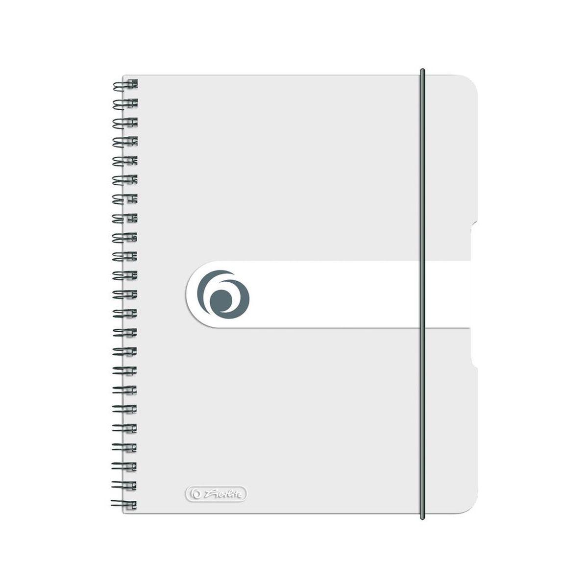 Herlitz Блокнот Easy Orga To Go 80 листов в клетку формат А5 цвет прозрачный44166Удобный блокнот от Herlitz Easy Orga To Go - незаменимый атрибут современного человека, необходимый для рабочих или школьных записей.Блокнот содержит 80 листов формата А5 в клетку без полей. Обложка выполнена из качественного полипропилена. Внутренний спиральный блок изготовлен из металла и гарантирует надежное крепление листов. Блокнот имеет закругленные углы и нежный дизайн бордового цвета.Блокнот для записей от Herlitz Easy Orga To Go станет достойным аксессуаром среди ваших канцелярских принадлежностей. Это отличный подарок как коллеге или деловому партнеру, так и близким людям.