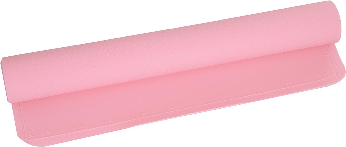 Коврик силиконовый Mayer & Boch, цвет: розовый, 42 х 28 см21993_розовыйСиликоновый коврик Mayer & Boch предназначен для приготовления выпечки. Он быстро нагревается, равномерно пропекает, не допускает подгорания выпечки с краев или снизу. Нет необходимости смазывать коврик маслом. Вынимать продукты из изделия очень легко. Коврик не ржавеет и на нем не образуются пятна. Нет необходимости изменять температуру приготовления. Можно использовать в микроволновой печи, духовом шкафу, морозильной камере и в холодильнике. Можно мыть в посудомоечной машине.