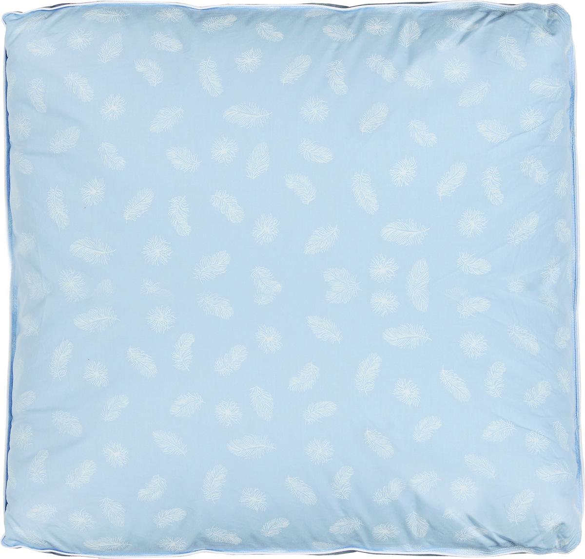 Подушка Легкие сны Донна, наполнитель: гусиный пух второй категории, 60 x 60 см66(14)02-ПЭПодушка Легкие сны Донна поможет расслабиться, снимет усталость и подарит вам спокойный и здоровый сон. Наполнителем является воздушный и легкий гусиный пух второй категории. Чехол выполнен из гладкого, шелковистого и при этом достаточно прочного тика (100% хлопка). По краю подушки выполнена отделка кантом. Это отличный вариант для подарка себе и своим близким и любимым. Степень поддержки: упругая. Рекомендации по уходу: Деликатная стирка при температуре воды до 30°С. Отбеливание, барабанная сушка и глажка запрещены. Разрешается обычная химчистка.