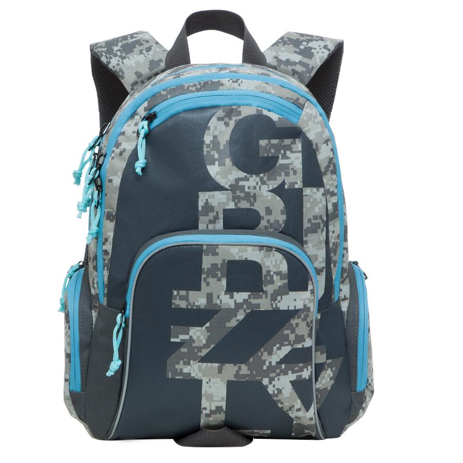 Рюкзак городской Grizzly, цвет: серый, бежевый, 18 л. RU-604-1/2RU-604-1/2Рюкзак молодежный, два отделения, карман на молнии на передней стенке, объемный карман на молнии на передней стенке, объемные боковые карманы на молнии, внутренний карман-пенал для карандашей, внутренний подвесной карман на молнии, жесткая анатомическая спинка, дополнительная ручка-петля, укрепленные лямки, брелок для ключей