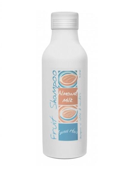 Hair Company Шампунь на основе сладкоминдального молока Sweet Hair Fruit Shampoo Almond Milk 500 мл010092/LB10678 RUSШампунь на основе миндального молочка Hair Company Sweet Hair Fruit Shampoo Almond Milk великолепно увлажняет. Мягкий и нежный, почти воздушный шампунь деликатно очищает волосы и кожу головы и идеально подходит для частого применения. Растительные протеины и экстракт миндаля, богатые витаминами А и D, придают волосам шелковистость, здоровый блеск и естественный объем. Вытяжки из ягод и листьев барбариса оказывают ярко выраженное противовоспалительное действие. Шампунь благотворно влияет на кожу головы и действует успокаивающе.
