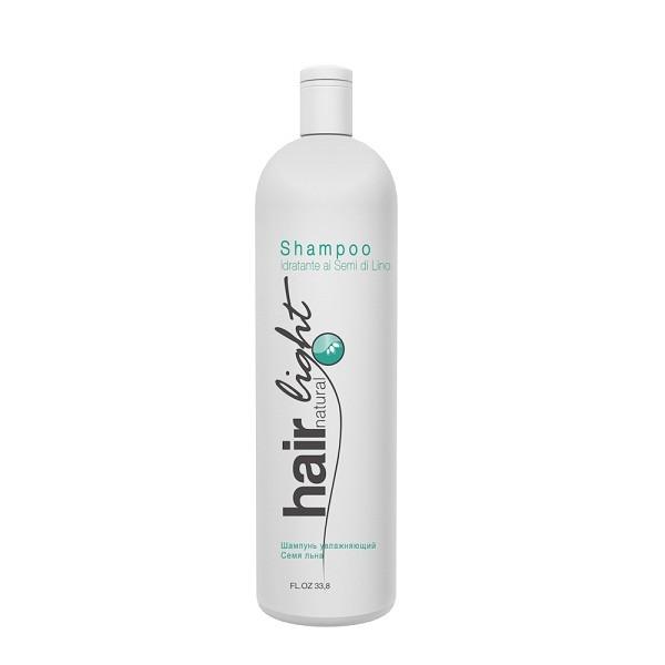 Hair Company Шампунь увлажняющий Семя льна Hair Natural Light Shampoo Idratante ai Semi di Lino 1000 мл251147/LBT9336 RUSШампунь увлажняющий Семя льна Hair Company Hair Natural Light Shampoo Idratante ai Semi di Lino увлажняет и смягчает волосы, делая их гладкими, пластичными. Идеально подходит для длинных, химически завитых, вьющихся от природы, пористых и обесцвеченных волос. Обогащен протеинами шелка, сои и пшеницы (для укрепления), а так же маслами авокадо и жожоба (для увлажнения волос). Приглаживает чешуйки кутикул и предотвращает появление мелких, непослушно торчащих завитков.