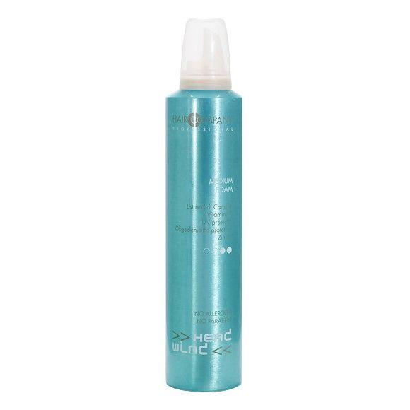 Hair Company Мусс средней фиксации Head Wind Top Fix Medium Foam 250 млБ33041_шампунь-барбарис и липа, скраб -черная смородинаМусс для укладки волос средней фиксации Hair Company Head Wind Top Fix Medium Foam придает волосам гибкость, обладает превосходными фиксирующими качествами и не оставляет следов на волосах. Формула средства обеспечивает повышенный уровень защиты от неблагоприятного воздействия внешних факторов. Пенка подходит для всех типов волос, идеальная для моделирования причесок любой формы.