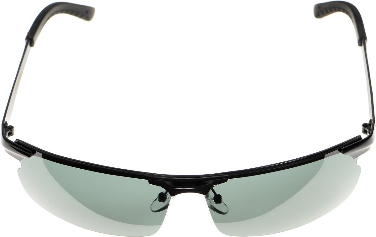 Очки солнцезащитные женские Selena, цвет: зеленый, черный. 80033201BM8434-58AEСолнцезащитные женские очки Selena выполнены из металла с элементами из высококачественного пластика. Дужки имеют ребристую поверхность для большего удобства во время использования.Линзы данных очков с высокоэффективным фильтром UV-400 Protection обеспечивают полную защиту от ультрафиолетовых лучей. Используемый пластик не искажает изображение, не подвержен нагреванию и вредному воздействию солнечных лучей.Такие очки защитят глаза от ультрафиолетовых лучей, подчеркнут вашу индивидуальность и сделают ваш образ завершенным.