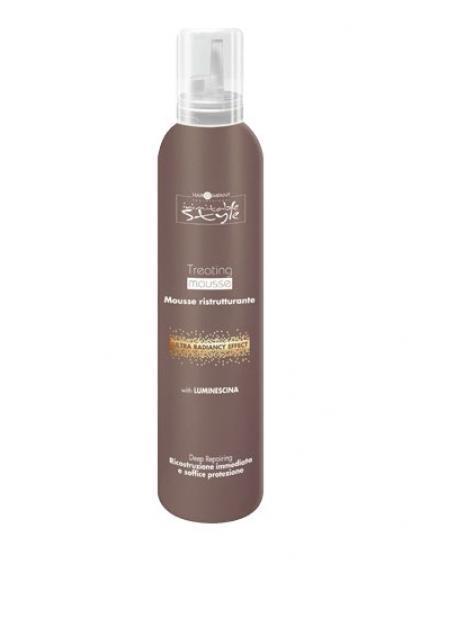 Hair Company Восстанавливающий мусс Professional Inimitable Style Treating Mousse 200 мл254858/LB12185 RUSВосстанавливающий мусс HAIR COMPANY INIMITABLE STYLE Treating Mousse 200 мл Мусс легкой консистенции. Благодаря уникальной формуле, пена увлажняет волосы и тщательно восстанавливает структуру волос. Содержит LUMINESCINE - отражает свет, придаёт волосам мягкость и блеск. Восстанавливает структуру волос.