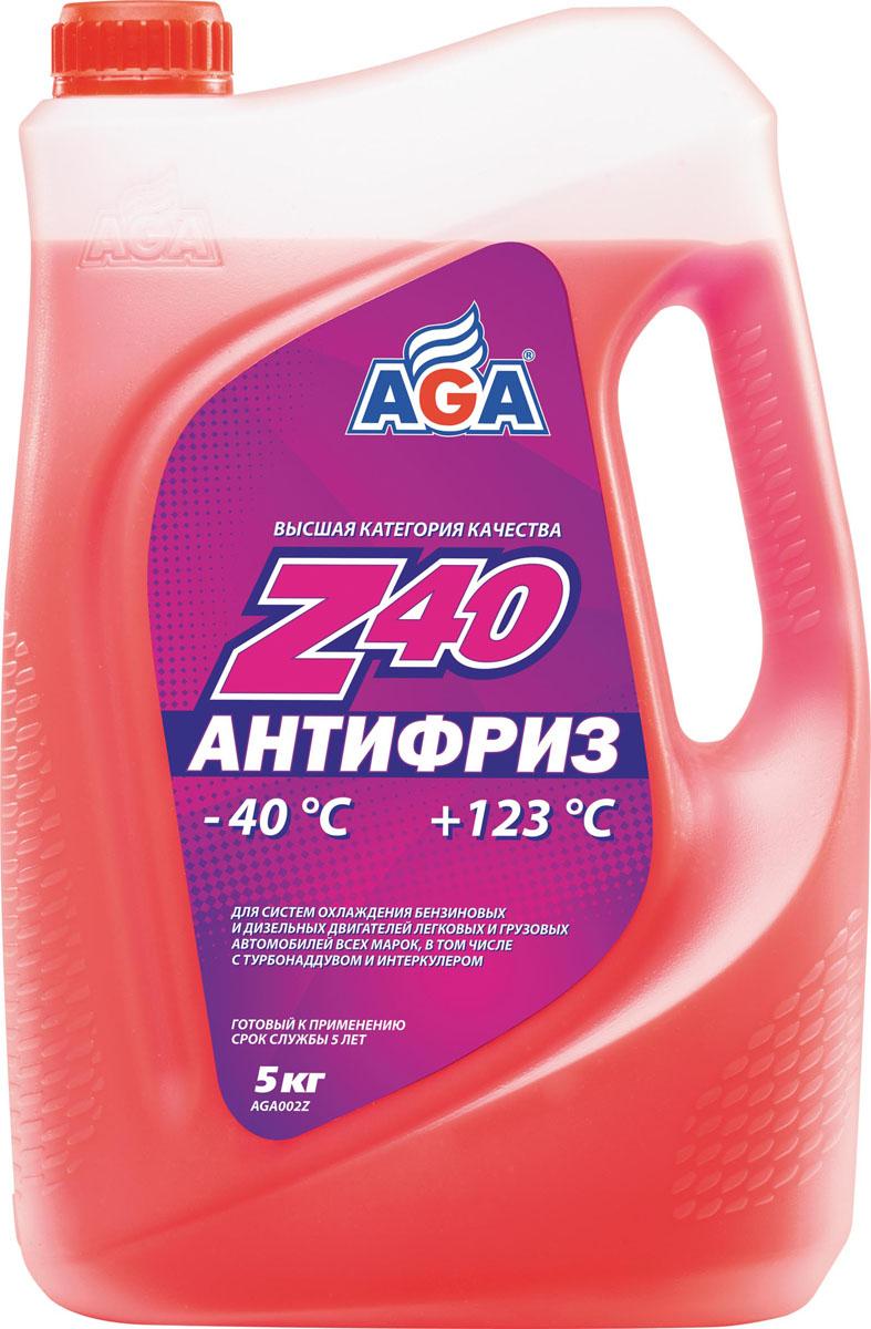 Антифриз, готовый к применению AGA, красный, -40 °С. AGA 002 ZAGA 002 ZСрок службы — до 5 лет, или 150 000 км пробега. Рабочий диапазон температур: от –40 до +123 °C. Отличается повышенной проникающей способностью в микрорельеф охлаждаемых поверхностей, что улучшает теплоотвод, особенно при высоких нагрузках. Антифриз разработан с учетом требований: ASTM?D?4985/5345; BMW N600 69.0; DaimlerChrysler DBL 7700.20; Audi, Porsche, Seat, Skoda, VW TL 774?F, type G-12+; Ford WSS–M97 B44–D, ТТМ АвтоВАЗ.