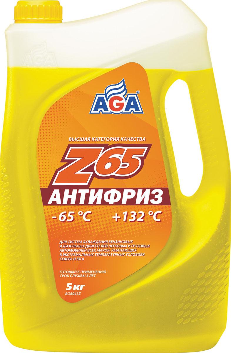 Антифриз, готовый к применению AGA, желтый, -65 °С. AGA 043 ZAGA 043 ZСрок службы — до 5 лет, или 150 000 км пробега. Рабочий диапазон температур: от –65 до +132 °C. Отличается высокой термостабильностью и пролонгированной работоспособностью присадок. Обеспечивает повышенную защиту всех металлов от коррозии и кавитации. Разработан с учетом требований: ASTM D 4985/5345; BMW N600 69.0; DaimlerChrysler DBL 7700.20; Audi, Porsche, Seat, Skoda, VW TL 774?F, type G-12+; Ford WSS-M97 B44–D, ТТМ АвтоВАЗ.
