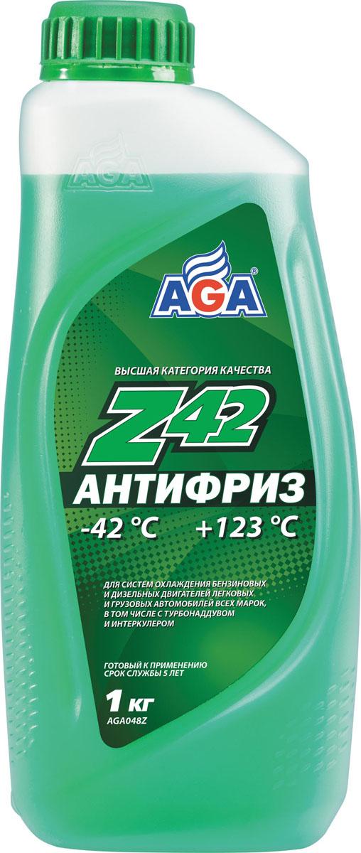 Антифриз, готовый к применению AGA, зеленый, -42 °С. AGA 048 ZAGA 048 ZСрок службы — до 5 лет, или 150 000 км пробега. Рабочий диапазон температур: от –42 до +123 °C. Отличается усиленной антикавитационной защитой припоя, алюминия, меди, латуни, стали и чугуна. Разработан с учетом требований: ASTM D 4985/5345; BMW N600 69.0; DaimlerChrysler DBL 7700.20; Audi, Porsche, Seat, Skoda, VW TL 774?D; G-48; Ford WSS-M97 B44?D, TTM АвтоВАЗ.