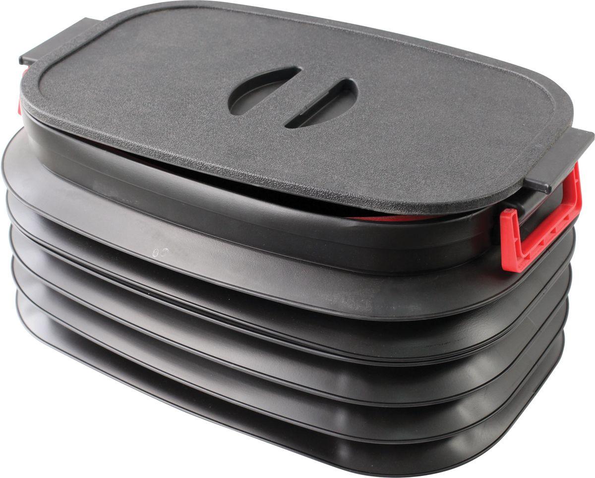 Складывающийся пластиковый органайзер Zipower. PM 4285PM 4285Складывающийся органайзер для багажника.Изготовлен из эластичного, износостойкого пластика.Высота в сложенном состоянии: 110 мм Высота в разложенном состоянии: 300 мм Объем в разложенном состоянии: 37 л