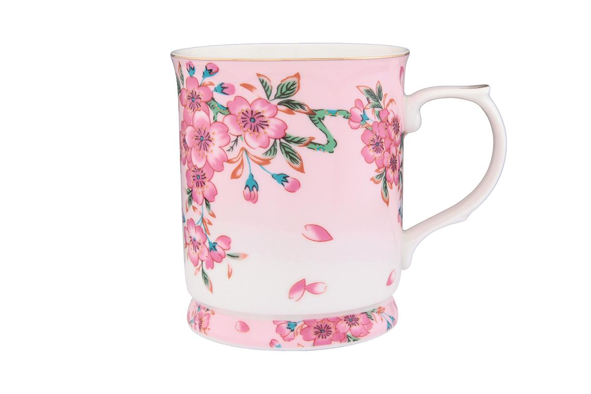 Кружка Elan Gallery Сакура, 400 мл730552Кружка с замечательным рисунком любителям долгих и душевных чаепитий в компании.