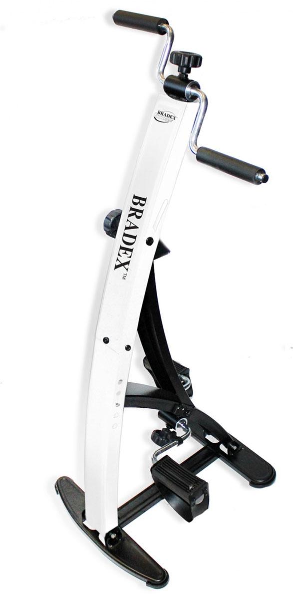 Тренажер педальный для ног и рук Bradex Дуал БайкSF 0099Для велопрогулок нужны время, приятный пейзаж и хорошая погода. К сожалению, не всегда все эти условия совпадают. Тренажер педальный для ног и рук Дуал Байк — это компактный и удобный кардиотренажер прямо у Вас дома. Преимущества: - Обеспечивает качественную нагрузку на мышцы рук и ног - Помогает обогатить кровь кислородом и избавиться от лишних сантиметров - Оснащен счетчиком потраченных за тренировку калорий, совершённых оборотов и дистанции, таймером.