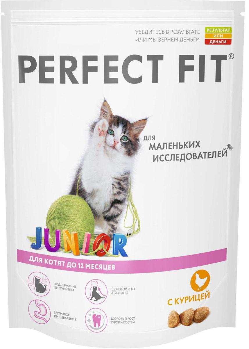 Корм сухой для котят Perfect Fit, с курицей, 650 г41031