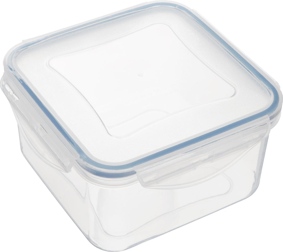 Контейнер Tescoma Freshbox, 700 мл892012Контейнер Tescoma Freshbox, изготовленный из прочного пластика, отлично подходит для хранения и разогрева блюд. Герметичная крышка имеет силиконовый уплотнитель, пища остается свежей дольше и не протекает при перевозке. Подходит для холодильника, морозильных камер, микроволновой печи и посудомоечной машины.