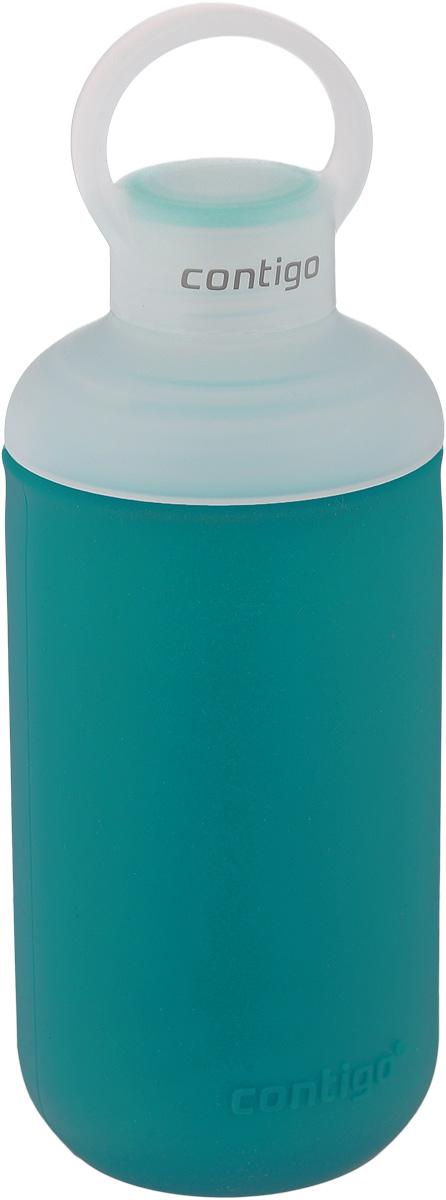 """Бутылка для воды Contigo """"Tranquil"""", цвет: голубой, белый, 590 мл contigo0334"""