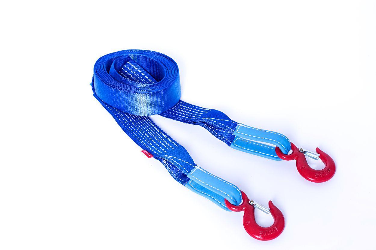 Динамический строп Tplus Стандарт, рывковый, крюк/крюк, 4,5 т, 5 мT000394Нагрузка на разрыв, не менее: 4.5 т; Длина: 5 м; Ширина ленты: 55 мм; Материал ленты: полиамид; Защита петель: экокожа; Эластичность (удлинение при нагрузке): 20%; Исполнение: крюк/крюк; Применяется для а/м массой* до 1400 кг *снар. масса + 100 кг