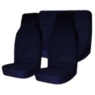 Комплект грязезащитных чехлов на передние и заднее сиденья Tplus, с мешком для хранения, цвет: синий, 3 штT001275Материал: оксфорд Цвет: синий Наличие кармана на тыльной стороне: да Количество чехлов: 3 шт. Мешок для хранения: 1 шт