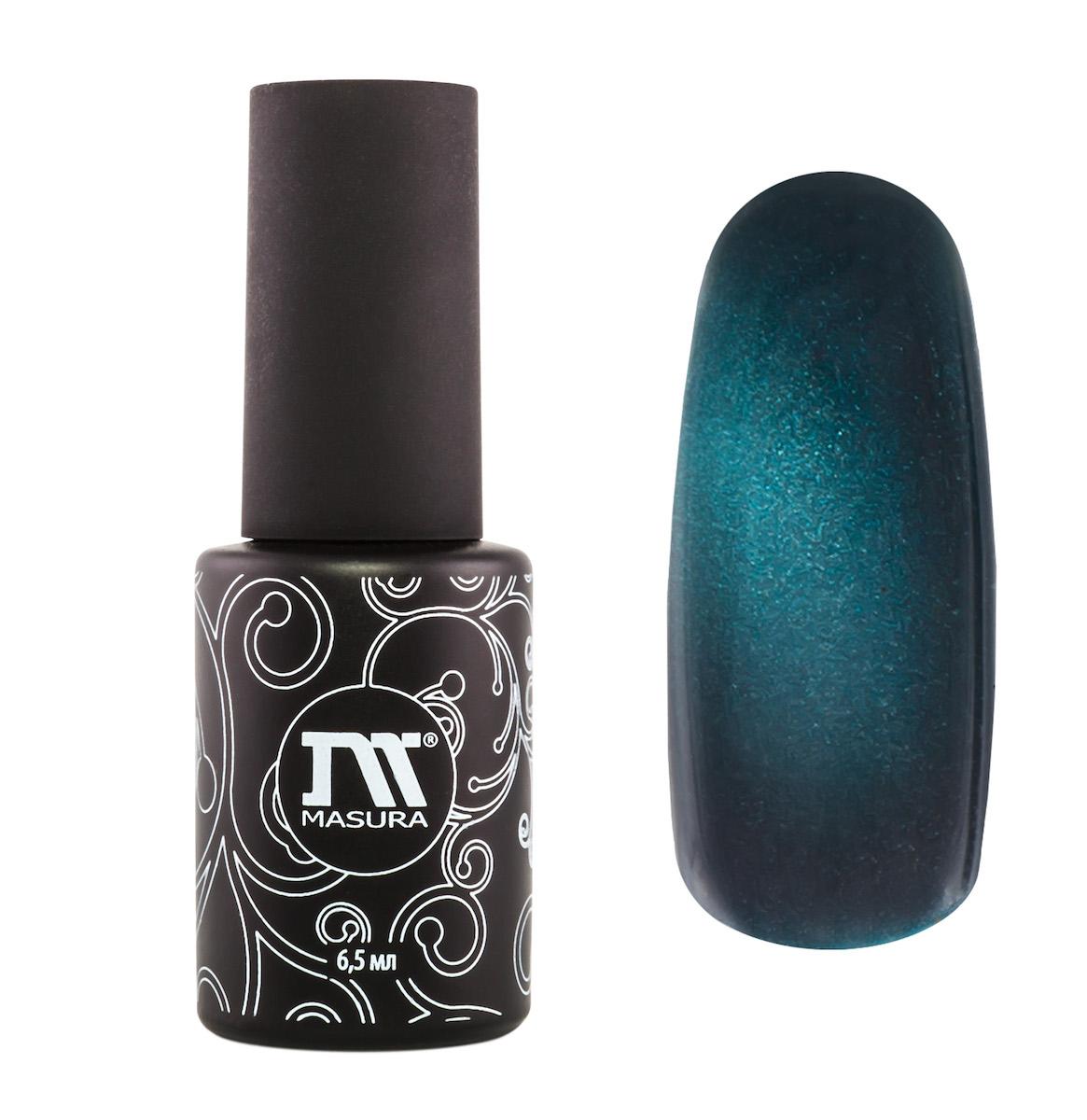 Masura Гель-лак Французская Тиара, 6,5 мл295-11бирюзовый с голубым подтоном, с зеркальным переливом, плотный