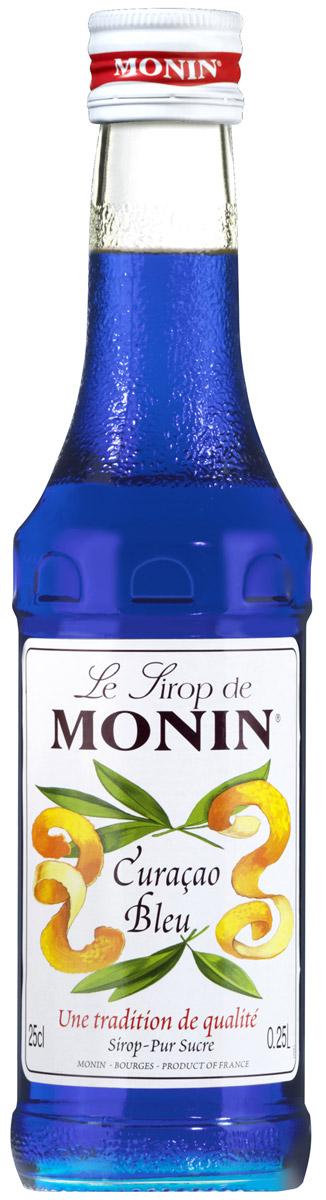 Monin Блю Кюрасао сироп, 0,25 лSMONN0-000095Кюрасао - ликер ароматизированный с сушеной кожурой зеленых апельсинов первоначально из Вест-Индии с острова Кюрасао, тропического рая, с красивыми уединенными пляжами чтобы наслаждаться солнечным светом большую часть дней в году. Ликер имеет апельсиновый вкус с различной степенью горечи. Наиболее распространенный синий Кюрасао. Его безалкогольная версия прежде всего используется, чтобы добавить легкий экзотический аромат в напитки. Синий цвет сиропа со вкусом апельсина идеально подходит для фантазий в приготовлении напитков! Имеет запах апельсиновой кожуры и вкус апельсиновой конфеты. Применение: Газированные напитки, коктейли, фруктовые пунши. Сиропы Monin выпускает одноименная французская марка, которая известна как лидирующий производитель алкогольных и безалкогольных сиропов в мире. В 1912 году во французском городке Бурже девятнадцатилетний предприниматель Джордж Монин основал собственную компанию, которая специализировалась на...
