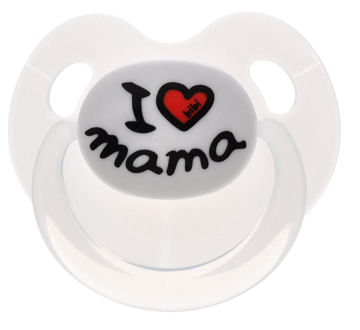 Bibi Пустышка силиконовая Dental Mama от 6 до 16 месяцев
