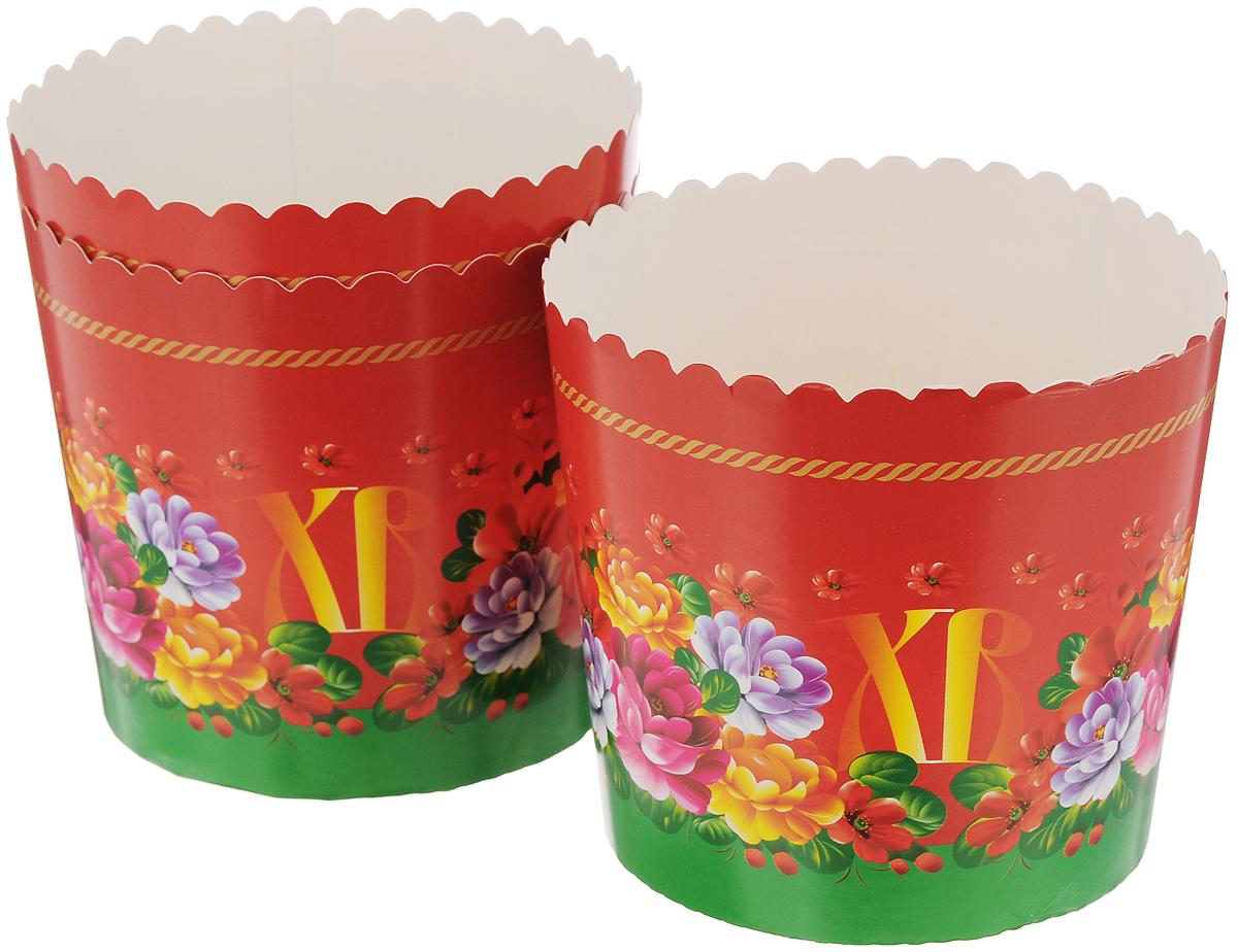 Набор форм для выпечки кексов Home Queen Пасхальные куличи, 3 шт. 6993869938Формы Home Queen Пасхальные куличи изготовлены из бумаги с ПЭТ покрытием. Они используются для приготовления куличей, а также другой выпечки. Изделия декорированы яркими рисунками. С такими формами вы всегда сможете порадовать своих близких оригинальной выпечкой. Диаметр формы (по верхнему краю): 10,5 см. Высота: 10 см.