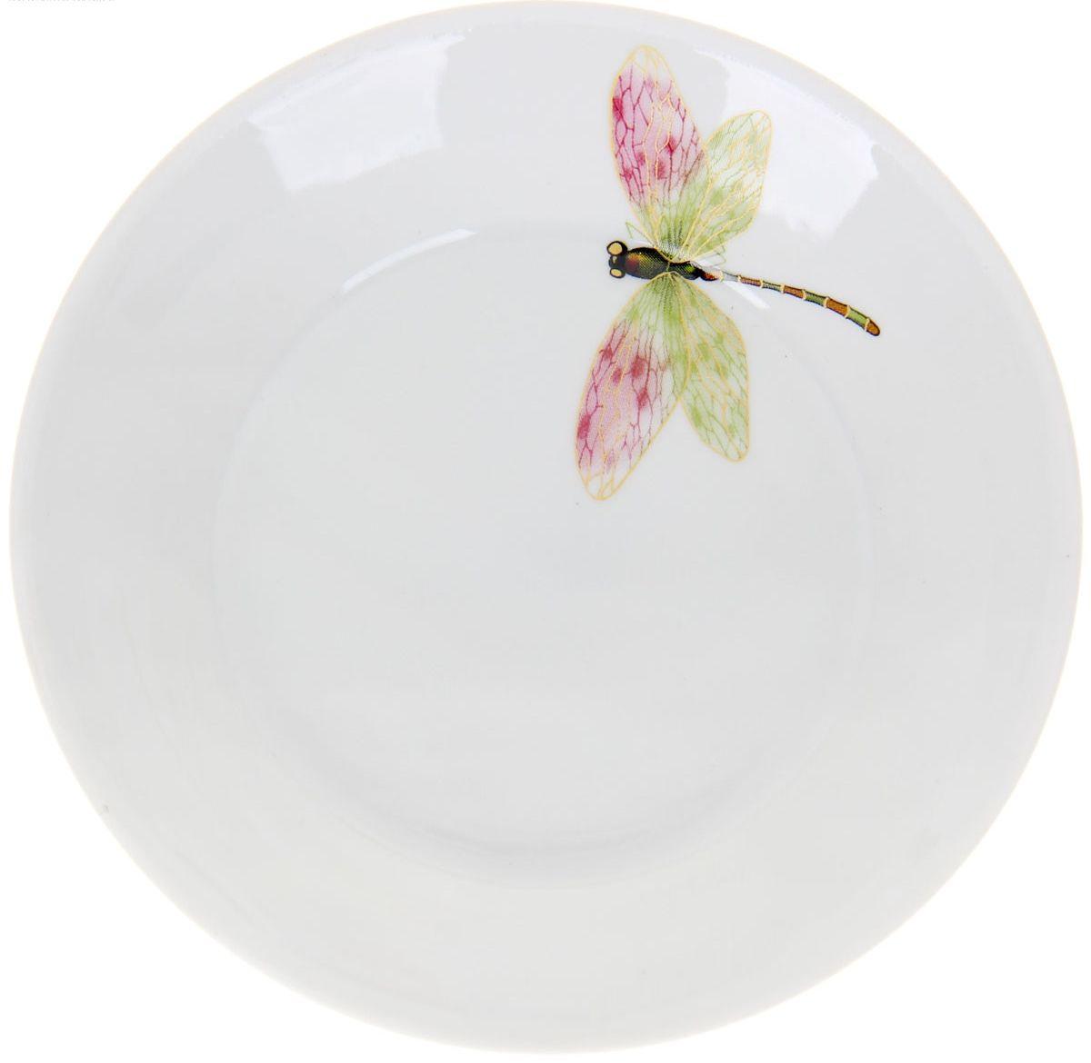 Блюдце Стрекоза, диаметр 14 см1224495