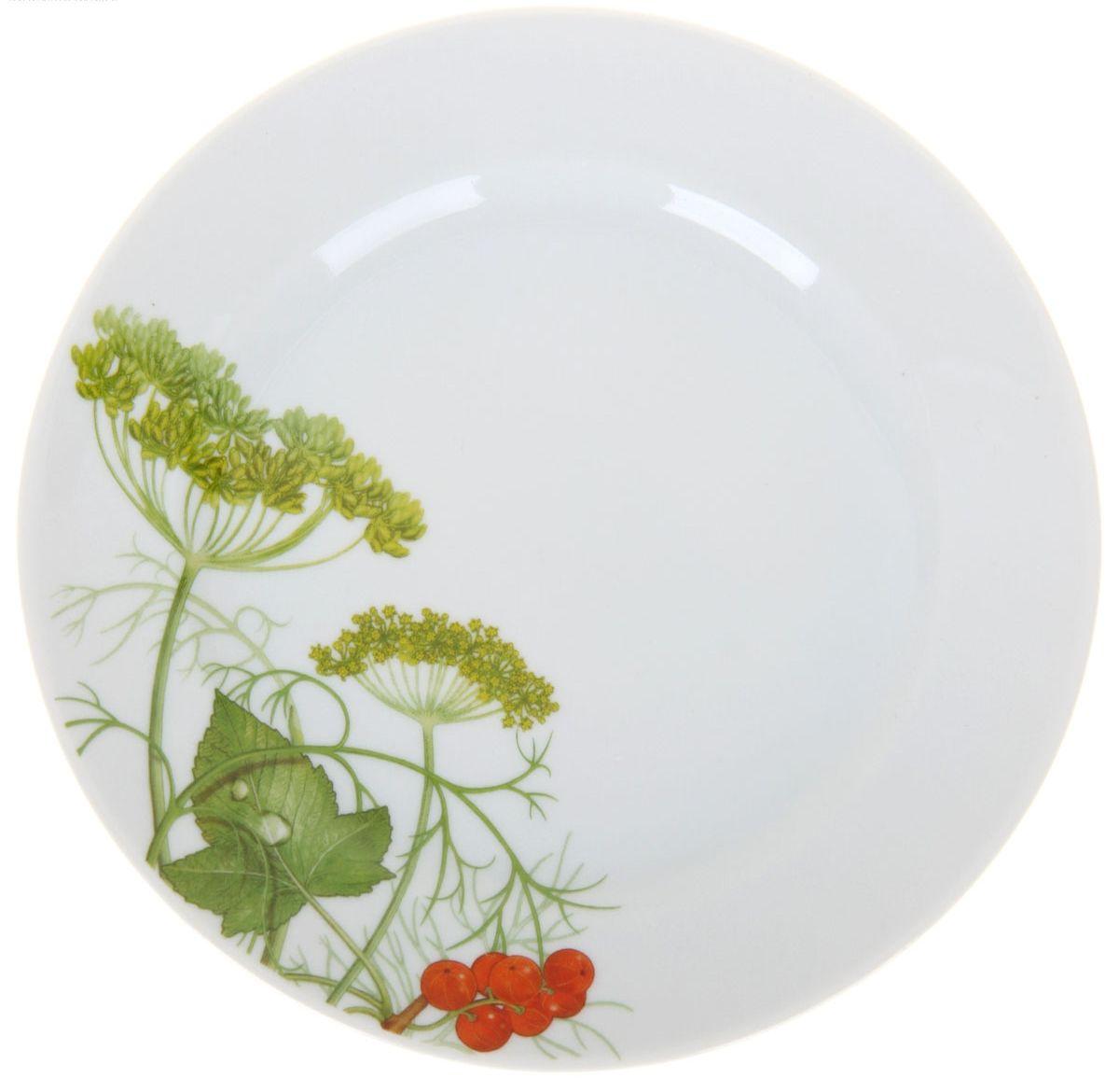 Тарелка мелкая Идиллия. Садочек, диаметр 17 см1224520