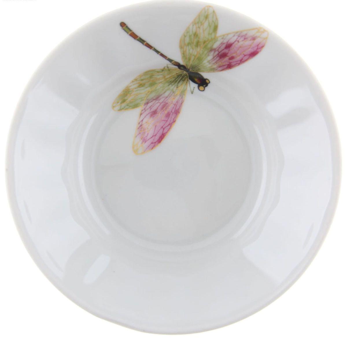 Блюдце для варенья Стрекоза, диаметр 11 см1303761
