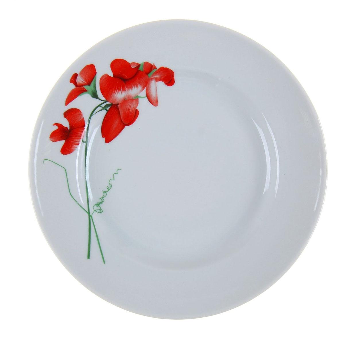 Тарелка мелкая Идиллия. Рубин, диаметр 20 см1109500