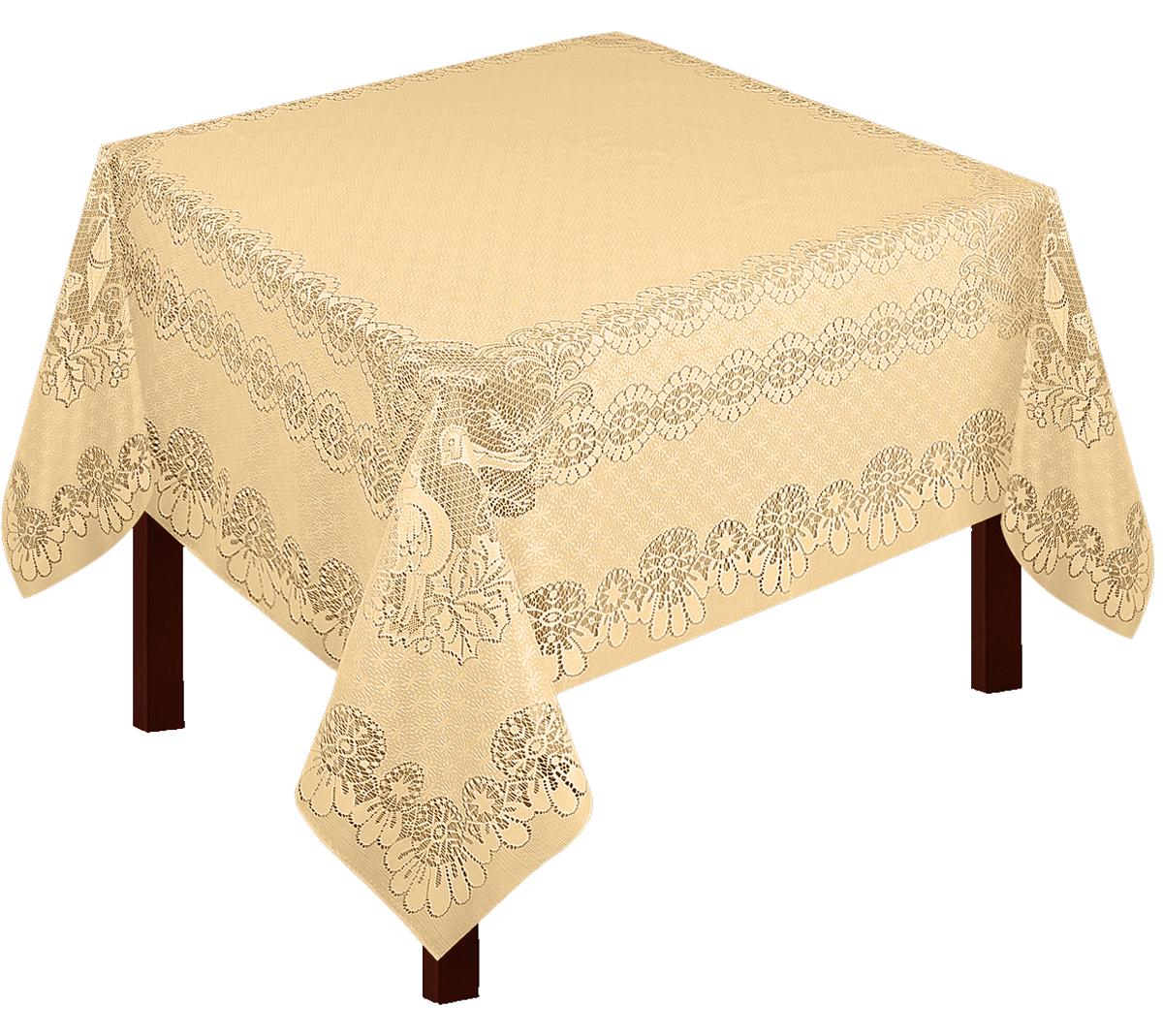 Скатерть Zlata Korunka, прямоугольная, цвет: золотистый, 165 х 150 см80016Скатерть прямоугольная р.165*150, 100% п/э, золото. Скатерть не мнется, легко стирается и очень быстро сохнет