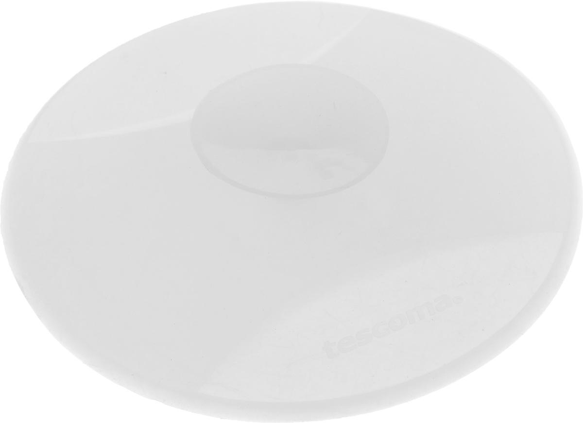 Заглушка для кухонной мойки Tescoma Clean Kit, универсальная, цвет: прозрачный, диаметр 11 см900636_прозрачныйЗаглушка для кухонной мойки Tescoma Clean Kit изготовлена из высококачественного силикона. Она отлично подходит для водонепроницаемой герметизации раковины. Устойчива к кипящей воде. После использования, прикрепите на бок раковины, используя присоску. Можно мыть в посудомоечной машине. Диаметр заглушки: 11 см.