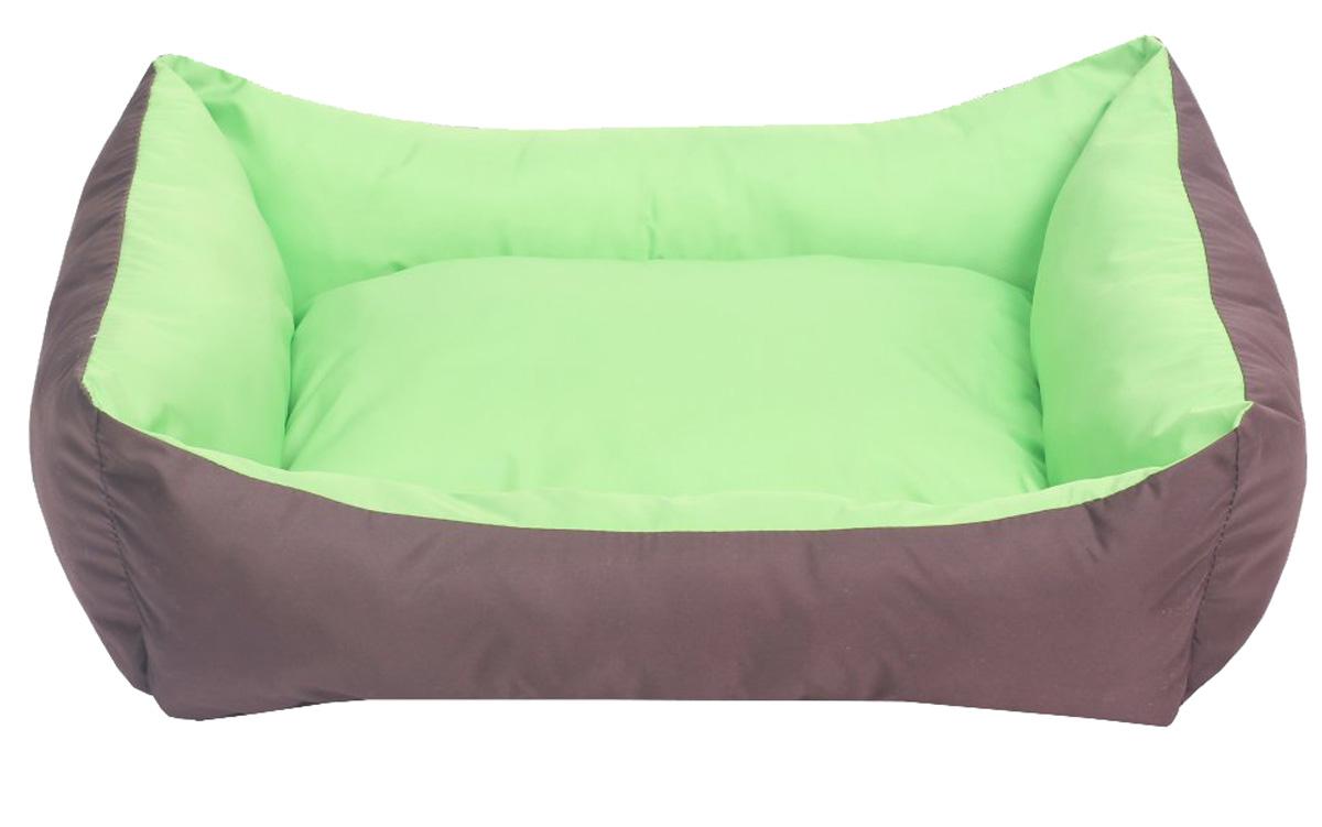 Лежанка для собак Lion Manufactory Уют, цвет: зеленый, размер S, 42 х 32 х 15 см0120710Лежанка-трансформер двухсторонняя. К материалу, из которого выполнена данная модель лежанки, не прилипает шерсть животного. Легко стирается. Не боится влаги. Рекомендации: стирка в деликатном режиме 30 градусов. Материал: синтепон, нейлон. Размер лежанки: 420х320х150 мм. Размер спального места: 410х310 мм.