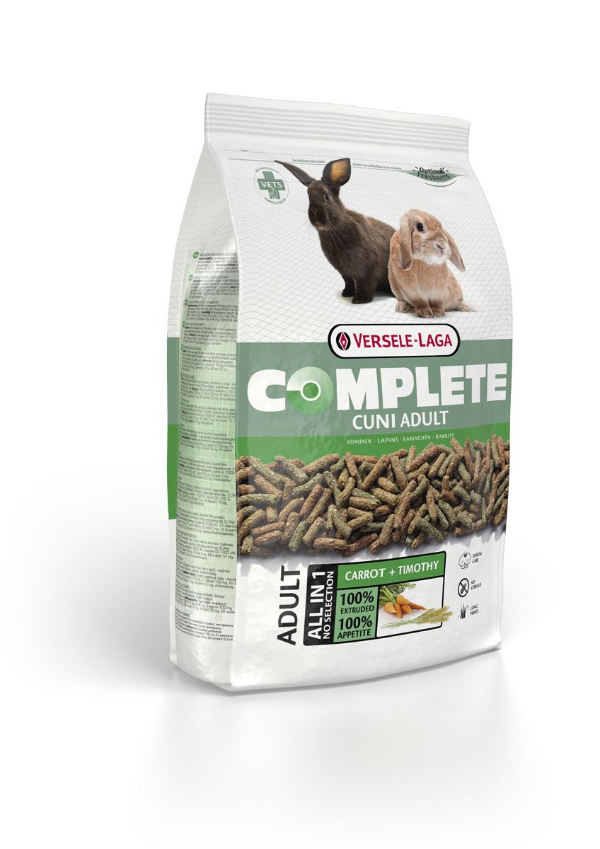 Корм для кроликов Versele-Laga Complete Cuni, 1,75 кг0120710Полноценный и вкусный корм для (карликовых) кроликов. Состоит из экструдированных гранул. Содержит компоненты, которые способствуют естественному стачиванию зубов кроликов и обеспечивает здоровье полости рта. Одним из важных ингредиентов корма является клетчатка. Она необходима вашему питомцу для наиболее эффективного усвоения пищи. С кормом Cuni Complete ваш карликовый кролик будет всегда отлично себя чувствовать.Корм упакован в пакеты весом 1750 г. Белок 14,0%, Жир 3,0%, Сырая клетчатка 20,0%, Сырая зола 7,0%, Кальций 0,6%, Фосфор 0,4%, Витамин А 10.000 МЕ/кг, Витамин D3 1.500 МЕ/кг, Витамин E 30 мг/кг, Витамин C 100 мг/кг, Сульфат меди (II) 10 мг/кг, Витамин А 10.000 МЕ/кг, Витамин D3 1.500 МЕ/кг, Витамин E 30 мг/кг, Витамин C 100 мг/кг, Сульфат меди (II) 10 мг/кг.