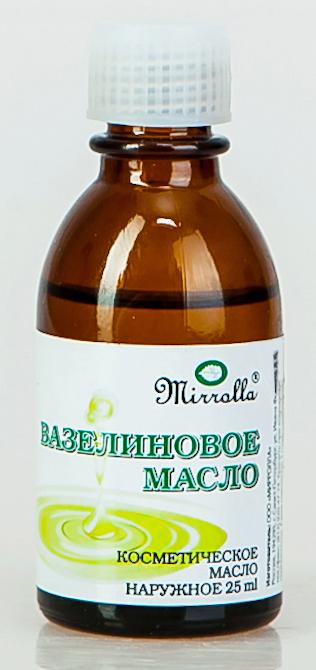 Масло Вазелиновое 25мл4650001791528Вазелиновое масло - смягчает огрубевшие участки кожи; применяется для увлажнения обветренной сухой кожи губ; препятствует негативному воздействию факторов окружающей среды; используется как основа для других препаратов.