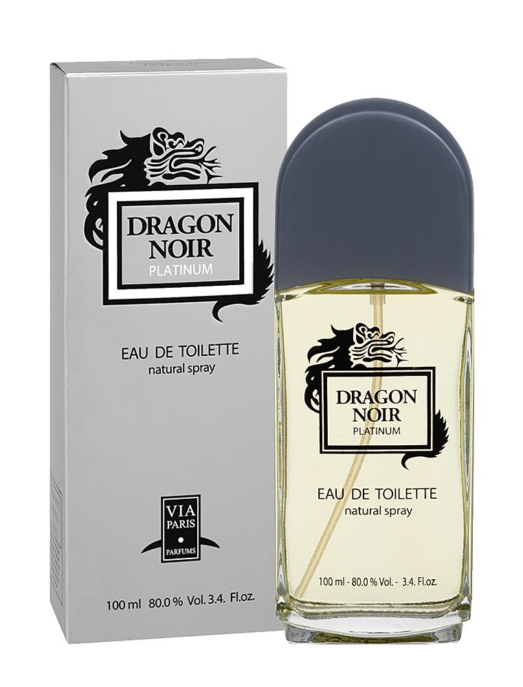 Dragon ParfumsТуалетная вода Dragon Noir Platinum (Драгон Нуар Платинум) мужская 100 мл dragon parfums dragon noir 100 мл dragon parfums 43246