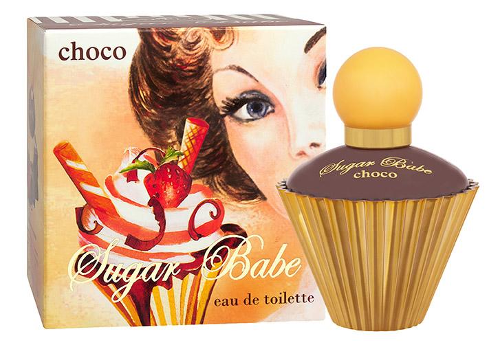 Apple Parfums Туалетная вода Sugar Babe choco (Шуга Бэби чоко) женская 50ml42830Sugar Babe Choco - это яркий, фруктовый, запоминающийся парфюм от российского бренда Apple Parfums. Композиция аромата разработана в Швейцарии. Классификация аромата: цветочно-фруктовый Пирамида аромата: Верхние ноты: нероли, лимон, малина Ноты сердца: жасмин, апельсин, гардения Ноты шлейфа: пачули, белый мед, шоколад, амбра Ключевые слова: сладкий, сочный, нежный